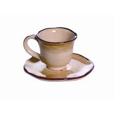 La Gabbianella Demitasse Cup and Saucer