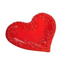 "Mamma Ro 9"" Heart Plate"
