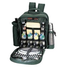 Merrymaker Picnic Backpack in Green