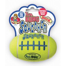 <strong>KONG</strong> Air Kong Squeaker Football Dog Toy
