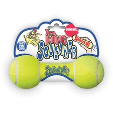 Air Squeaker Dumbbell Dog Toy