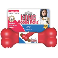 <strong>KONG</strong> Goodie Bone Dog Toy in Red