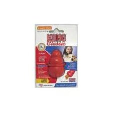Classic Dog Toy in Red