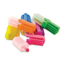 Tiny Highlighter for Pocket/Purse, Chisel Tip, Assorted