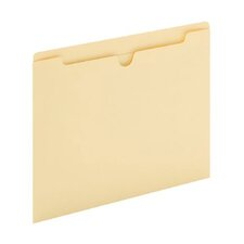 11 pt. Manila Letter Size File Jacket (Set of 100)