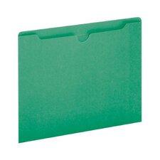 11 pt. Letter Size File Jacket (Set of 100)