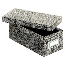"<strong>Globe Weis</strong> 3"" x 5"" Fiberboard Index Card Storage Box (Set of 12)"