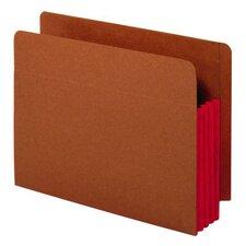 24 pt. Tyvek Gussets Letter Size End Tab File Pocket (Set of 50)