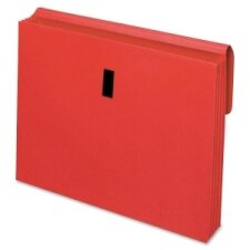 "Wallet With Flap, 3-1/2""Expansion, Letter, Blue/Red/Yellow"