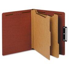 Metal Tab Classification Folder (10 Per Box)