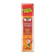 Keebler Cracker Snack, 1.8 Oz., 12/PK, Cheese/Cheedar