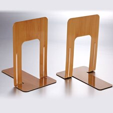 Nonskid Steel Book Ends (Set of 2)