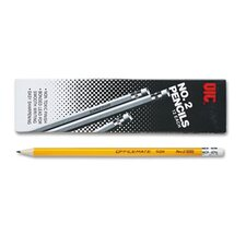 <strong>Officemate International Corp</strong> No. 2 Economy Woodcase Pencil, HB, Dozen