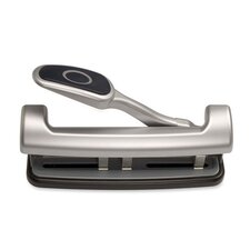 <strong>Officemate International Corp</strong> 2-3 Hole Puncher, Adjustable,w/ Lever Handle, 15-Sheets  Capacity