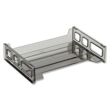 "Side Loading Stackable Desk Tray, 13-3/16""x9""x2-3/4"""