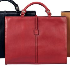 <strong>Winn International</strong> Leather Briefcase