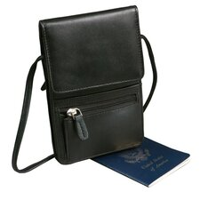 Compact Leather Travel Pack