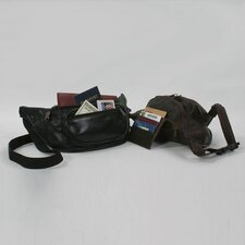 <strong>Winn International</strong> Cowhide Full Grain Leather Fanny Pack