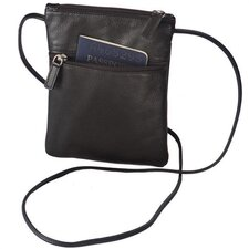 <strong>Winn International</strong> Harness Cowhide Leather Mini-Tote/Passport Holder