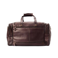 <strong>Winn International</strong> Colombian Leather Duffel Bag