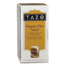 <strong>Starbucks Coffee</strong> Tazo Chai Spice Tea, 24 per Box