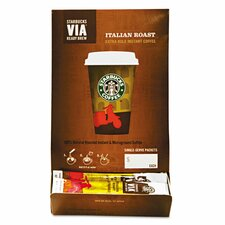Via Ready Brew Italian Roast Coffee (Pack of 50)