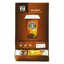 <strong>Starbucks Coffee</strong> Via Ready Brew Colombia Coffee (Pack of 50)