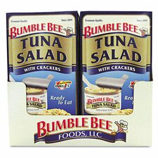 <strong>BUMBLE BEE FOODS, LLC</strong> On-The-Go Tuna with Crackers (12 Pack)