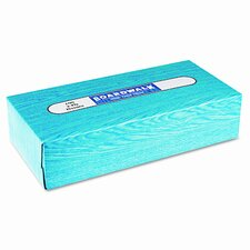 <strong>Boardwalk</strong> Facial Tissue, Flat Box, 100 Sheets/Box, 30 Boxes/Case