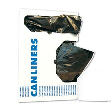 45-Gallon Low-Density Can Liner in Black
