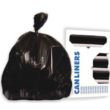 56-Gallon Can Liner in Black