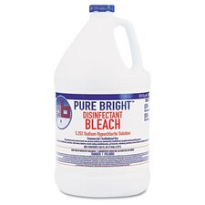 Pure Bright Liquid Bleach, 4/Carton