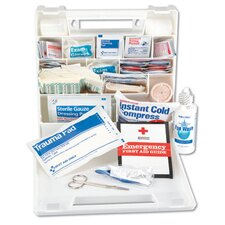 <strong>Impact</strong> First Aid Kit for 50 People, 194 Pieces, Plastic Case
