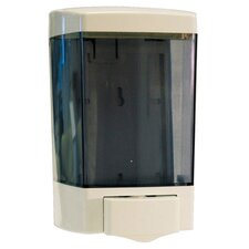 Plastic Soap Dispenser, 46-Ounce in White
