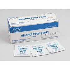 "1/2"" X 1 1/2"" Medium PDI® Alcohol Prep Pads (200 Per Box, 15 Boxes Per Case)"