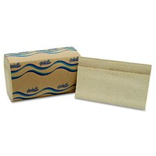 Embossed Single fold Paper Towel in Natural