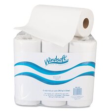 <strong>Windsoft</strong> Paper Towel Roll, 6 Rolls/Pack
