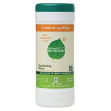 Disinfecting Wipes, 35 Wipes, Lemongrass