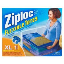 Ziploc 10 Gallon X-Large Flexible Tote (Pack 6)