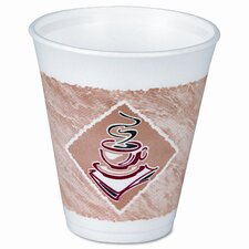 <strong>Dart Container Corp.</strong> Foam Hot/Cold Cups, 16 Oz., 1000/Carton