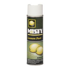Hand-Held Space Spray Dry Deodorizer Lemon Peel Aerosol Can (Set of 12)