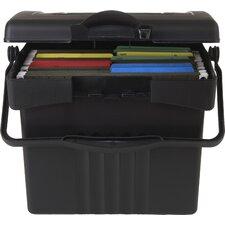 Economy Portable File Box (2 Count)