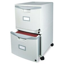 2-Drawer Mobile Filing Cabinet