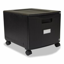1-Drawer Mobile Filing Cabinet