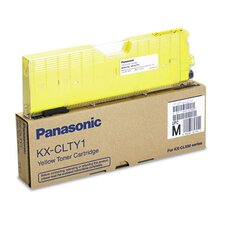 KXCLTY1 Toner Cartridge, 5000 Page Yield, Yellow