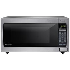 1.6 Cu. Ft. 1250W Genius Sensor Countertop / Built-In Microwave Oven with Inverter Technology
