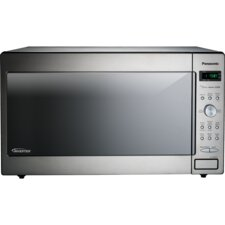 2.2 Cu. Ft. 1250W Genius Sensor Countertop / Built-In Microwave Oven with Inverter Technology