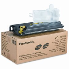 DQTU18B Toner Cartridge, 18000, Black