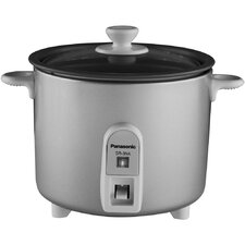 <strong>Panasonic®</strong> 1.5 Cup Rice Cooker/Steamer