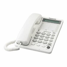 Speakerphone, w/LCD Display and Dataport, 20 Station, White